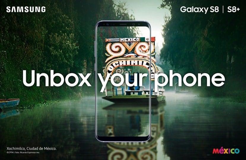 Samsung se alía con la Marca México