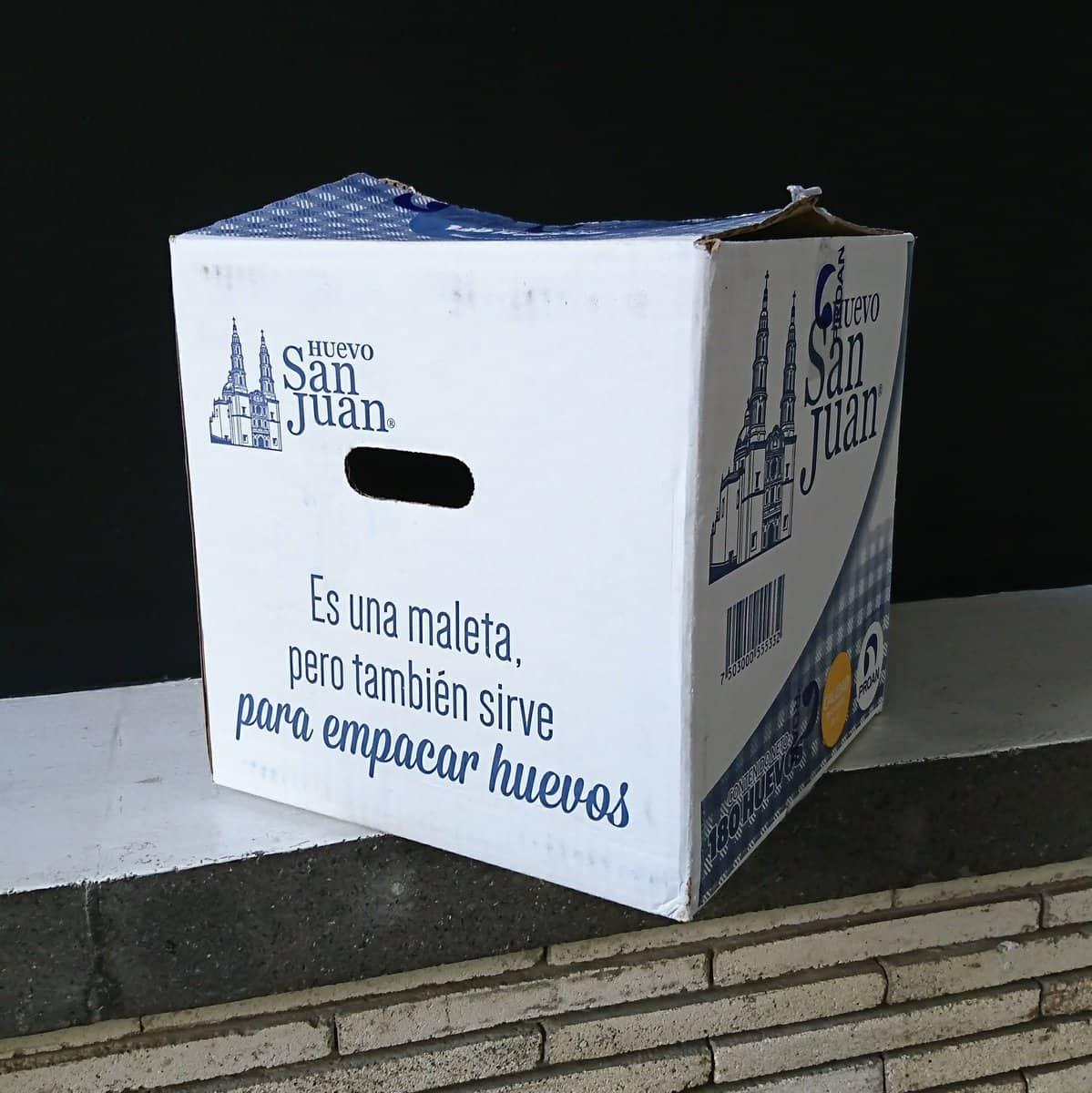 cajas de huevo San Juan
