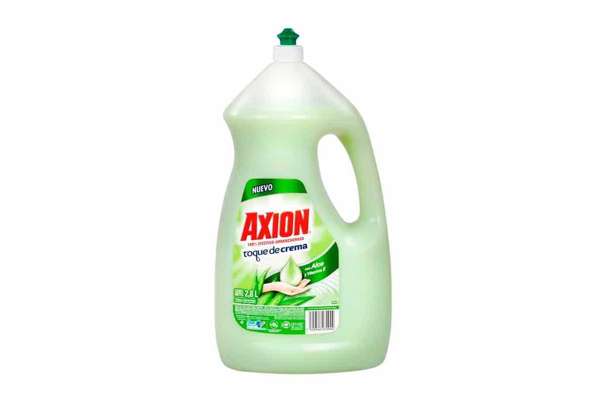 Axion toque de crema y aloe con vitamina e bacterias
