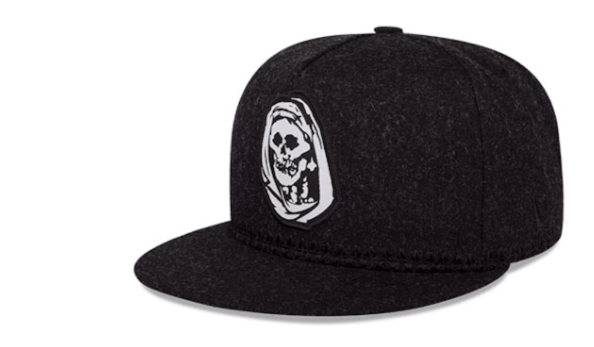 28fb99c4b65e5 Marca de gorras se inspira en la Santa Muerte para lanzar nuevos diseños