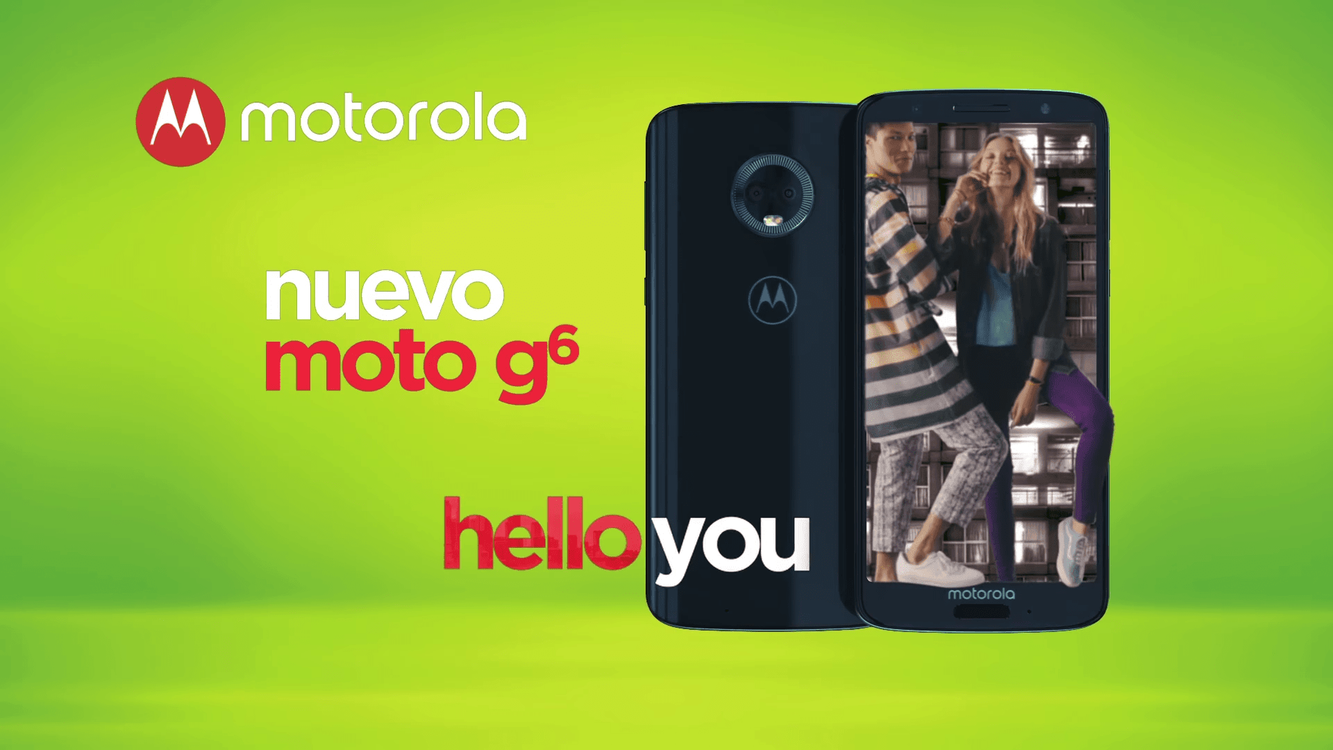 Motorola Hello You Moto G6