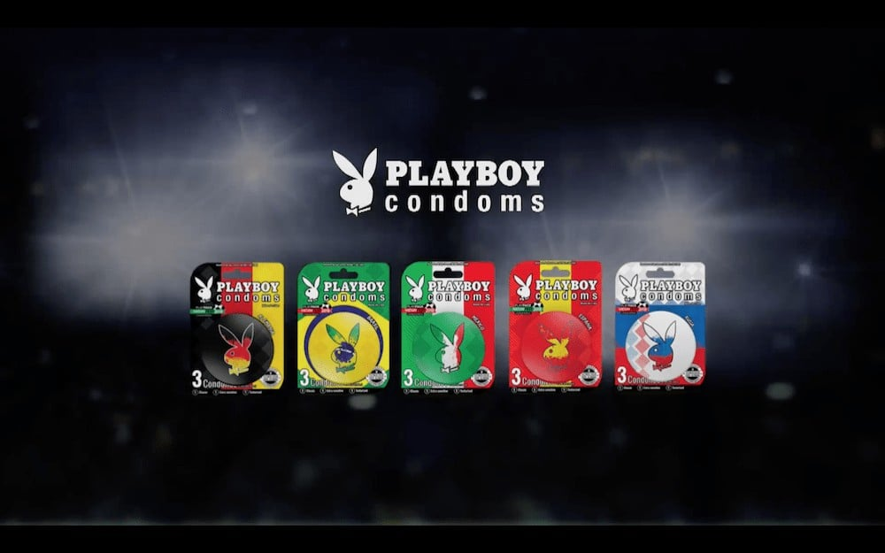 Mundial Rusia 2018 Playboy Condoms